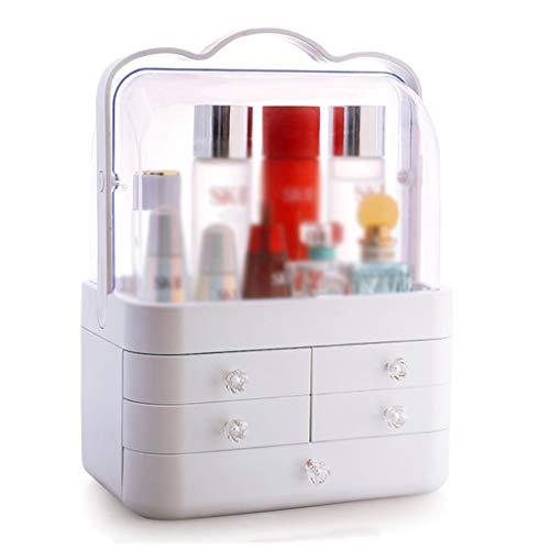KKY-ENTER Cosmétique Boîte De Rangement Transparent En Plastique Simple Bureau Rouge À Lèvres Bijoux Soins De La Peau Produits De Stockage Affichage Boîte 30 * 20 * 40 cm