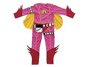Studio 100 MEMM00000180 traje de fantasía para niños - Trajes de fantasía para niños (Traje de fantasía, Película, Chica, Nylon, Rosa, 6 año(s))