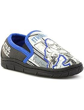 Star Wars - Zapatillas de estar por casa para niño azul azul