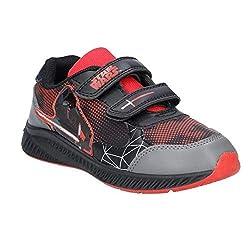 Star Wars Jungen SW001630 Sneaker, Rot (Pewter/Black/Black/Ruby Red), 33 EU