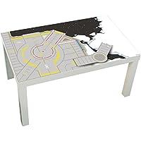 Preisvergleich für Limmaland Möbelaufkleber Weltraum - Passend für Ikea Lack Couchtisch Klein Nicht Inklusive