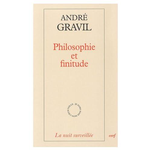 Philosophie et finitude