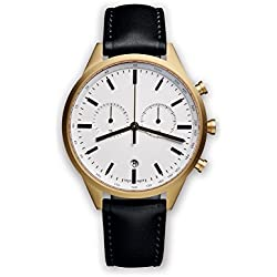 UNIFORM WARES C41 Armbanduhr - C41_SGO_01_NAP_BLK_1816R_01
