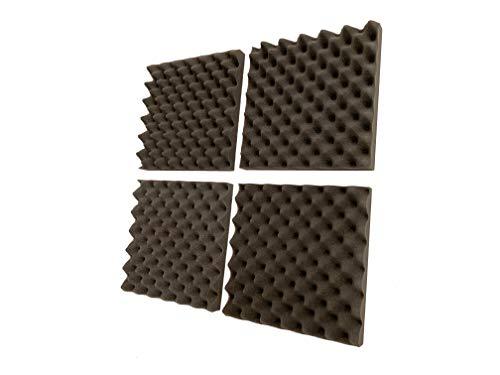 Advanced Acoustics Egg-Box, Akustik-Schaumstoff-Fliesen, 0,55NRC, 30,5cm, 24er-Pack