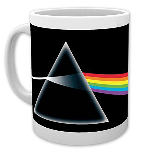"""Taza Pink Floyd """"Dark Side of the Moon/El Lado Oscuro de la Luna"""""""