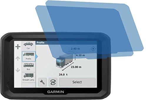 2x Crystal clear klar Schutzfolie für Garmin Dezl 770 LMT-D LMT Displayschutzfolie Bildschirmschutzfolie Schutzhülle Displayschutz Displayfolie Folie