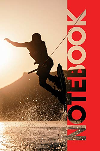Notebook: Wakeboard Bindings Beautiful Composition Book for Notes on Wakeboarding Near Me