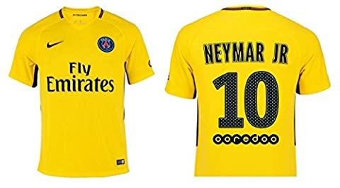 Trikot Herren Paris Saint-Germain 2017-2018 Away - Neymar Jr 10 (M)