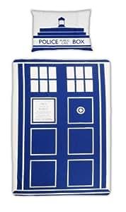 Doctor Who Single Duvet Cover