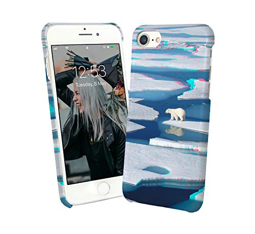 r Bear On Ice Landscape Snow Winter_000272 Case for Compatible with Huawei P30 LIte Handyhulle Hülle SchutzCover Bumper Shell Protective Protection ()