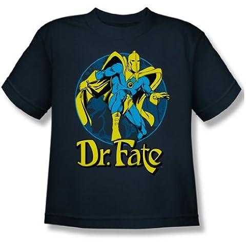 Dc Comics-Maglietta di Dr. destino Ankh ragazzi, colore: blu (Ankh Abbigliamento)