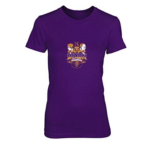 Dixon Brothers - Damen T-Shirt, Größe: XL, Farbe: lila