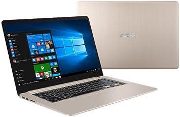 "Asus VivoBook S15 S510UN-BQ052T Notebook, Display da 15.6"", Processore I7-8550U, 1.8 GHz, HDD da 1000 GB, 8 GB di RAM, nVidia GeForce MX 150, Oro/Metallo [Layout Italiano]"
