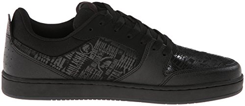Etnies Metal Mulisha Verano, Herren Skateboardschuhe Schwarz (Black/Red/Grey)