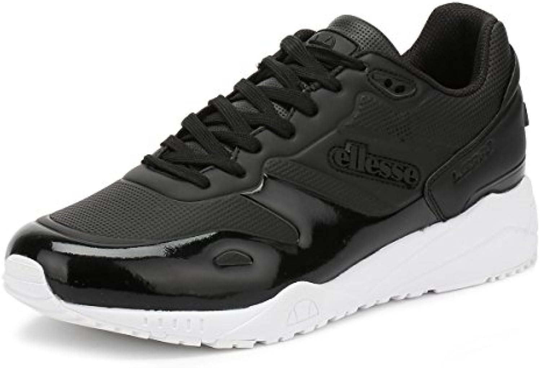 Ellesse Herren Schwarz Mono LS360 Sneakers  Billig und erschwinglich Im Verkauf