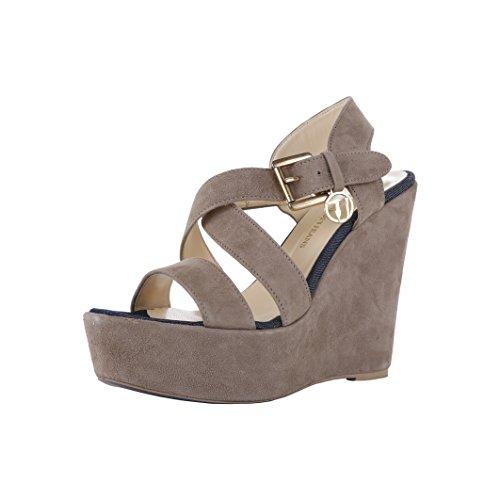 Sandales à plateforme Trussardi Beige