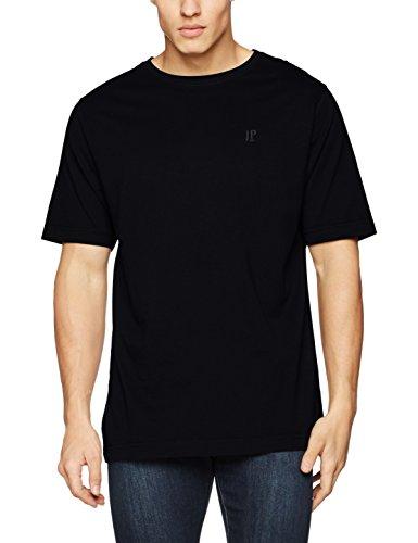 JP 1880 Große Größen Herren T-Shirt Rundhals Schwarz (Schwarz 10), XXXXXXXX-Large