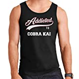 Addicted to Cobra Kai Baseball Text Men's Vest