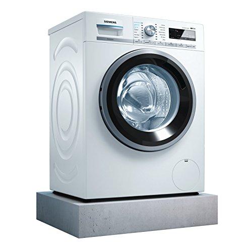 Siemens iQ700 WM14W740 Waschmaschine / 8,00 kg / A+++ / 137 kWh / 1.400 U/min / sensoFresh Programm / Nachlegefunktion / Hygiene Programm / Trommel reinigen-Programm - 8