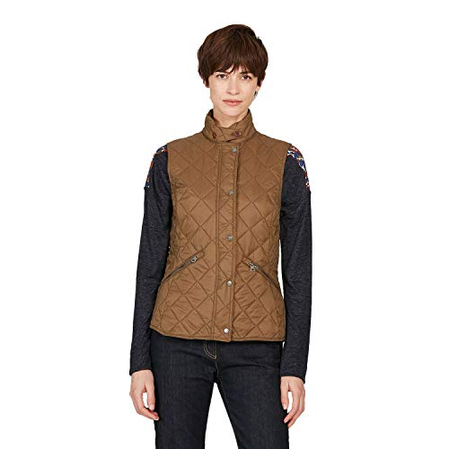 Aigle Rubby Womens Body Warmer Medium Lithop Urban Quilted Jacket