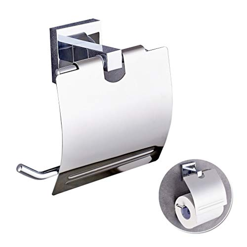 Auralum WC Toilettenpapierhalter Papier Halter Papierhalter Wandhalter Papierrollenhalte -