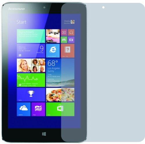 2x Lenovo Ideapad Miix 2 8 Zoll ENTSPIEGELNDE Displayschutzfolie Bildschirmschutzfolie Schutzhülle Displayschutz Displayfolie Folie
