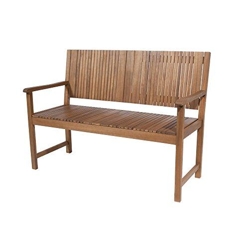 Siena Garden 120557 Bank Falun Akazienholz FSC® 100% Beschläge aus galvanisiertem Stahl