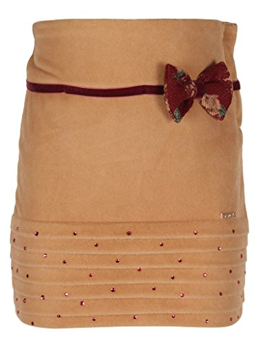 Cutecumber Girls Coat Fabric Floral Print Maroon Skirt  available at amazon for Rs.548