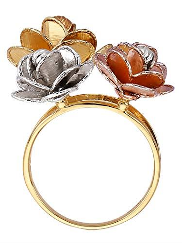 Diemer Gold Damen Rosen-Ring 60