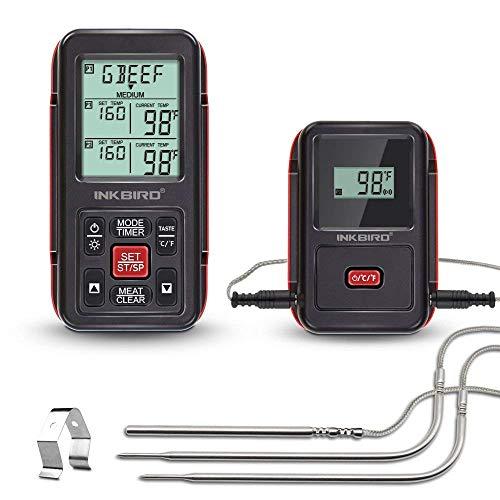 InkBird IRF-2S Termometro 300M Wireless...