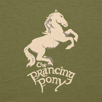 TEXLAB - The Prancing Pony - Herren T-Shirt Oliv