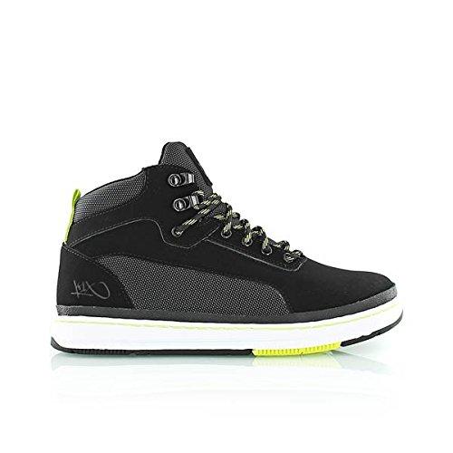 K1X, Sneaker uomo, (nero / giallo), 40 EU