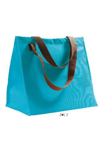 Shirtstown Shopping Bag Marbella, Shopper, Einkaufstasche, Umhängetasche, Schultertasche tuekise