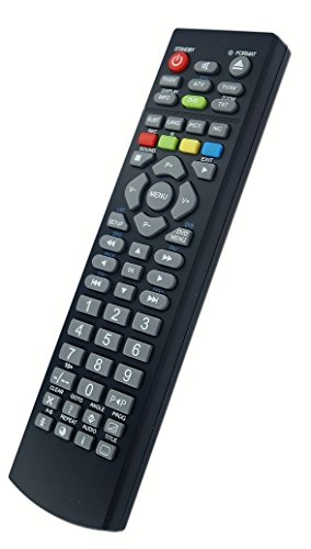 Replacement Remote Control for LCD TV TECHNIKA LCD24-620