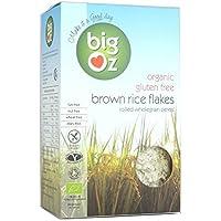 Big Oz | Organic Brown Rice Flakes | 1 x 500g