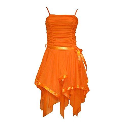 Unknown - Robe - Femme Orange - Orange