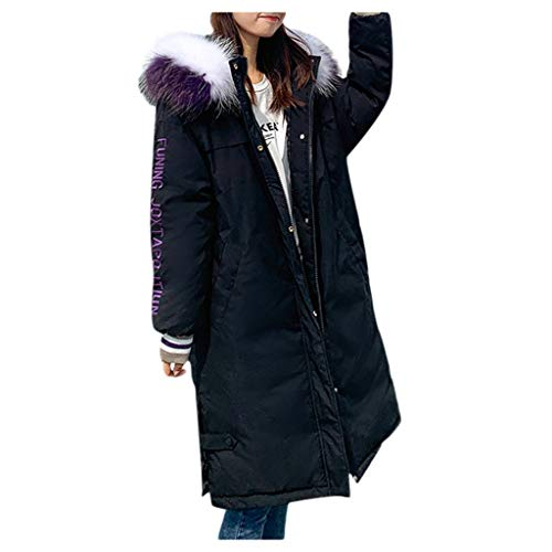 WERVOT Mäntel Damen Jacke Steppjacke Herbst Winter Übergangsjacke Steppjacke Übergangsjacke mit Kapuze (Wolle Cardigan Wrap Merino)