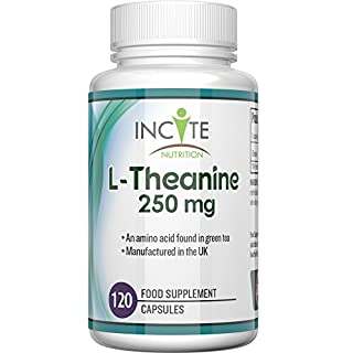 L-Theanine Supplement 250mg 120 Capsules (4 Months Supply) - BUY 2 GET FREE UK DELIVERY – High Dosage - UK Manufactured