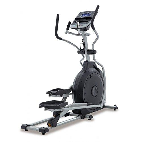Spirit Fitness XE 195avec ellipse Trainer, Cross Trainer de pouls de main de capteurs, Ergomètre, Cardio Cross Trainer Vélo elliptique, noir, One Size