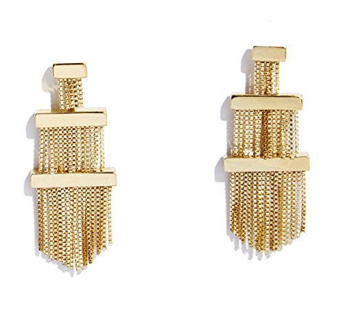 sarah-magid-yellow-gold-plated-electric-fringe-earring
