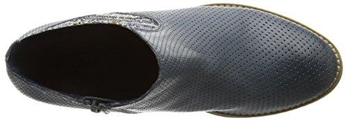 Laufsteg München - Fs161005, Scarpe col tacco con cinturino a T Donna Blu (Blu)