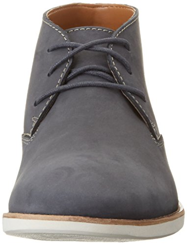 Clarks Herren Franson Top Chukka Boots Blau (Navy Nubuck)