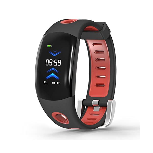 LATITOP Waterproof Fitness Tracker Watch With Heart Rate Monitor Pedometer Calorie Counter Sleep Monitor Stopwatch 3D Color Screen Activity Tracker For Kids Women Men