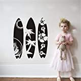 Jixiaosheng Decalcomanie Da Muro Di Mare Nuovo Design Da Surf Da Parete Murale Da Spiaggia Ondulata Art Se Creativo Da Surf In Stile Tavola Da Surf 57 * 69 Cm
