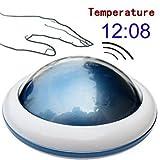 Día del Padre Gift- Zonman ufo Talking Temperatura Digital LED reloj despertador Tiempo
