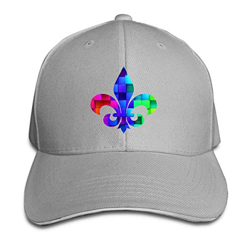 Mardi Gras Sandwich Baseball Caps Unisex Adjustable Trucker Style Hats (Outfits Ideen Mardi Gras)
