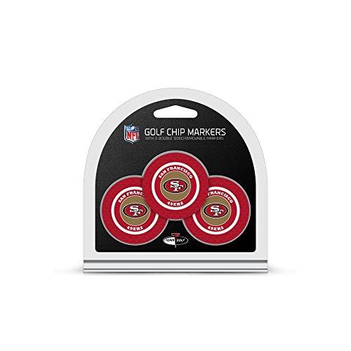 nfl-san-francisco-49ers-golf-chip-3-pack