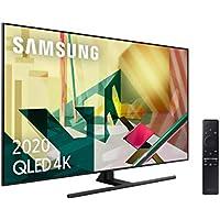 """Samsung 65Q70T QLED 4K 2020 - Smart TV de 65"""" con Resolución 4K UHD, Inteligencia Artificial 4K, HDR 10+, Multi View, Ambient Mode+, One Remote Control y Asistentes de Voz integrados (Alexa)"""