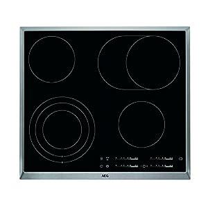 AEG HKA6507RAD – Vitrocerámica de 57.6 cm de color negro