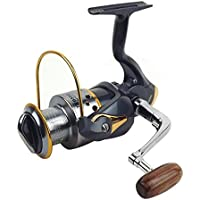 Moppi Aparejos de pesca 11 del eje 5000 5.1: 1 taza de la pesca carrete de línea de metal